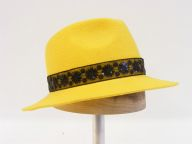yellow trilby
