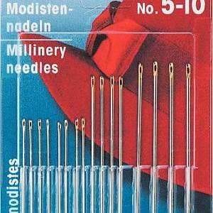 Millinery needles