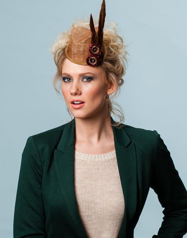 Hat by Karen Morris