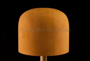 CB114 – Bowler Crown Block (150mm) – Guy Morse-Brown Hat Blocks 9daeadc6d84b