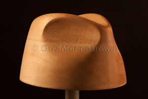 CB227 Trilby Crown Block – Guy Morse-Brown Hat Blocks 3fffbd2ba9af
