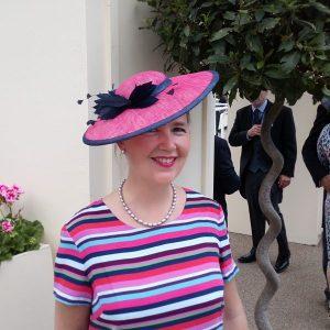 Hat by Marrison Millinery