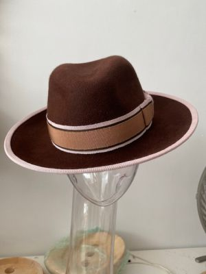 CB185 crown BB159 8cm brim hat block