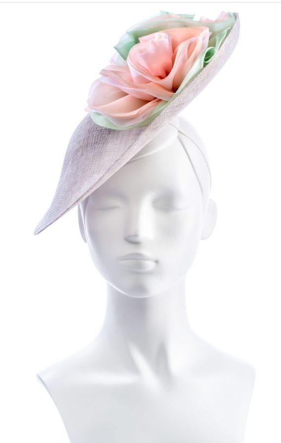 Hat mae on saucer hat block FB94 by Marisa Groom