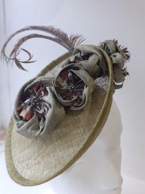 Saucer style hat block FB79