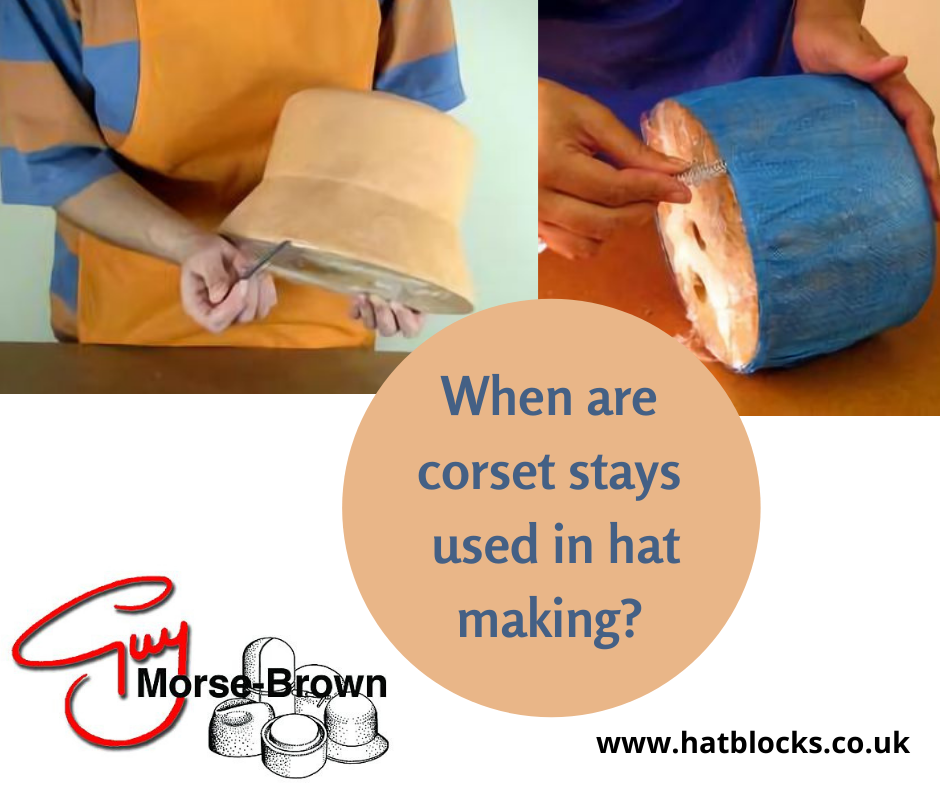 Corset Stay in hat making